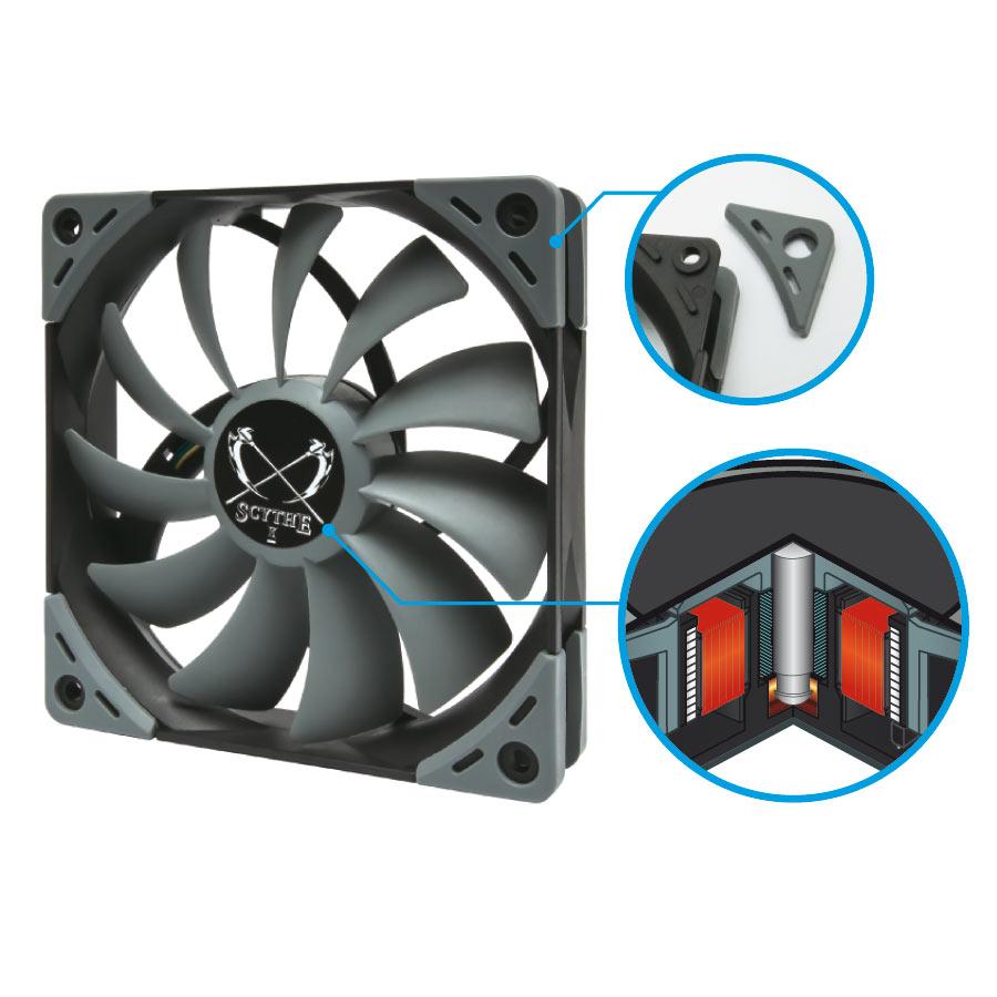 Ninja 5 Cpu Khler Lfter Lftersteuerung Von Scythe Fan Processor Lga 775 Original Heatsink Details